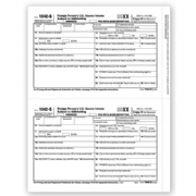 Laser 1042-S Tax Forms - Recipient Copy D