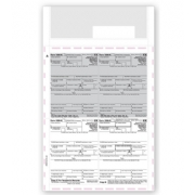 Laser 1099-R Tax Forms - Pressure Seal, 4-Up