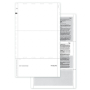 Pressure Seal Blank ACA Form 1095 w/Backer