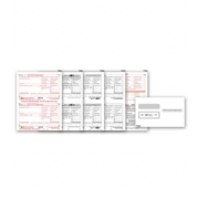 Laser W-2 Tax Forms & Envelopes