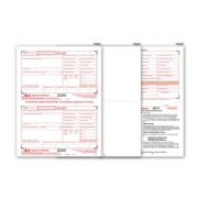 Blank Laser W-2 Tax Forms, 2-Up