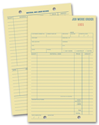 Job Work Order Pads