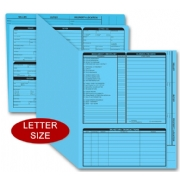 Blue Real Estate Listing Folders