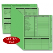 Green real estate folders