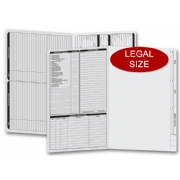 Gray real estate folders- legal size