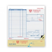 Service Order Forms & Claim Check