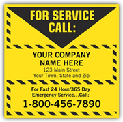 Contractor Service Labels