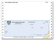 Continuous Accounts Payable Check topstub