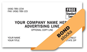 Custom Business Card, Business Bond Smooth