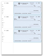 3-To-A-Page Laser Wallet Size Checks