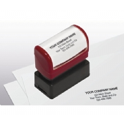 Compact Pre-Inked Address Stamp