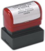 Custom Bank Endorsement Stamp - Pre-Inked