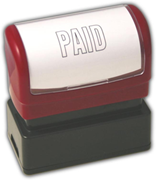 """PAID"" Stamp, Pre-Inked"