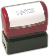 """POSTED"" Stamp, Pre-Inked"
