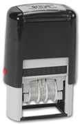 Self-Inking Plastic Date Stamp