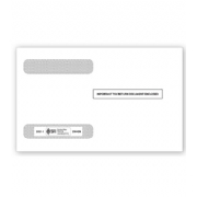 W-2 Tax Envelopes - Double-Window - Horizontal, 4-Up
