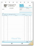 Sales Order Forms with Follow-Up