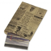 Paper Shopping Bags- Newsprint Merchandise Bags