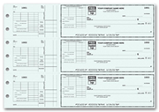 3-To-A-Page Checks with Voucher Stub