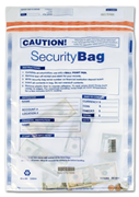"53854, 15"" x 20"" Single Pocket Deposit Bag, Clear"