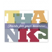 Monumental Thanks Thank You Card