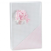Baby Gingham Reversible Wrapping Paper