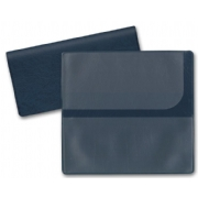Blue Check Cover - Deskbook Duplicate Carrier