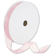 Organdy Sheer Pink Ribbon