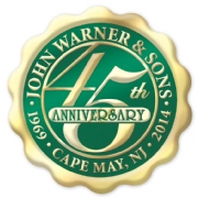 Circle Anniversary Labels