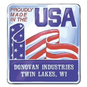Personalized Made In America Seal Rolls
