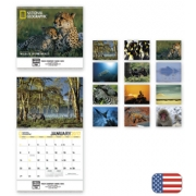 2017 National Geographic Wall Calendar