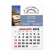 2018 Full Color Self Adhesive Calendars