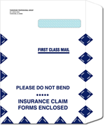Large Claim Form Envelopes
