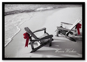 HM10006, Tropical Holiday Cards - Seaside Wishes