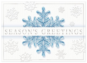 H14625, Crystalline Creation Holiday Cards
