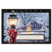 H15617, Winter Glow Holiday Cards