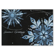 H15622, Sparkling Night Sky Holiday Cards