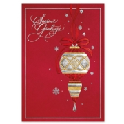 H15630, Ruby Red Greetings Holiday Cards