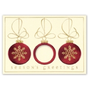 H15633, Dazzling Tidings Holiday Cards