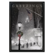 City Sidewalks Holiday Cards
