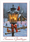 Evening Lights Holiday Cards
