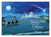 HP14316, To The Manger Christmas Cards