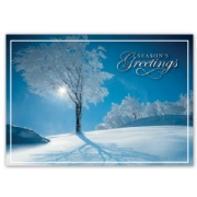 HP15303, Sky Blue Holiday Cards