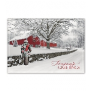 Holiday Card- Rustic Ranch
