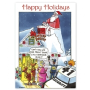 Holiday Security Industry Card- Call Security