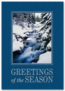 HP2303, Winter Holiday Cards - Freshly Fallen Snow