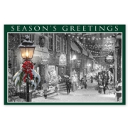 Main Street Glow Holiday Postcards