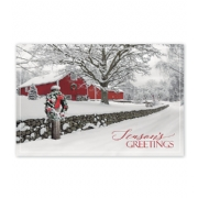 Holiday Postcards-Rustic Ranch