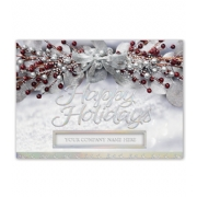 Holiday Christmas Cards- Sheer Elegance