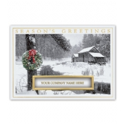 Holiday Business Cards- Winter Retreat
